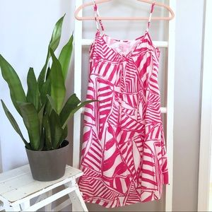 Lilly Pulitzer Daphne Pink Trapeze Dress
